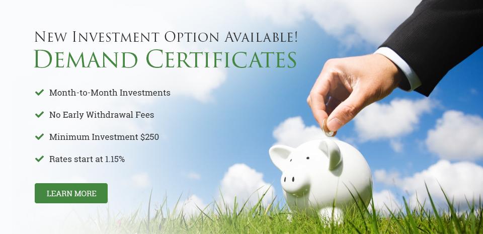 Demand-Certificates-Investment-Option
